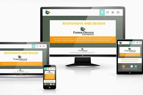 Design and advertising Fisher