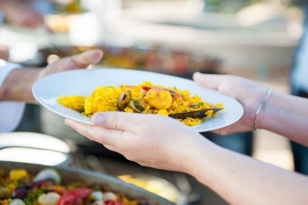 Paella Valenciana Catering
