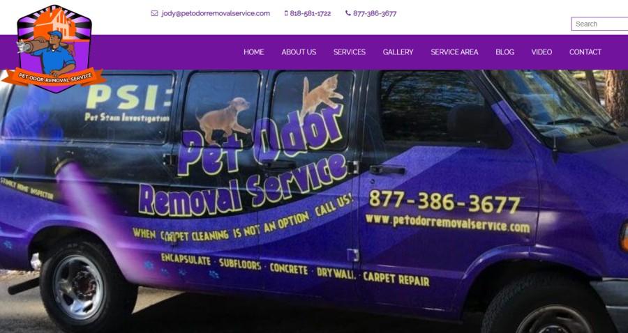Pet Odor Removal Service