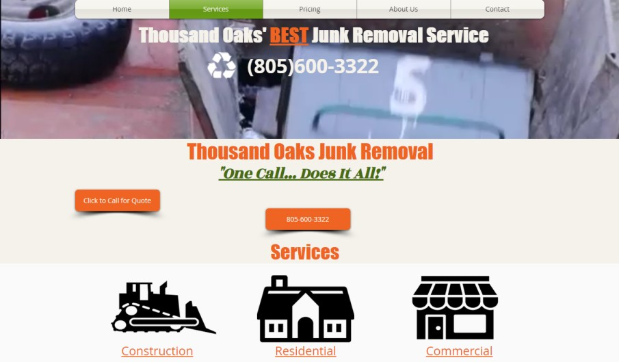 Thousand Oaks Junk Removal
