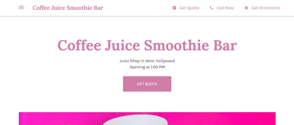 5 Best Juice Bars in Los Angeles1