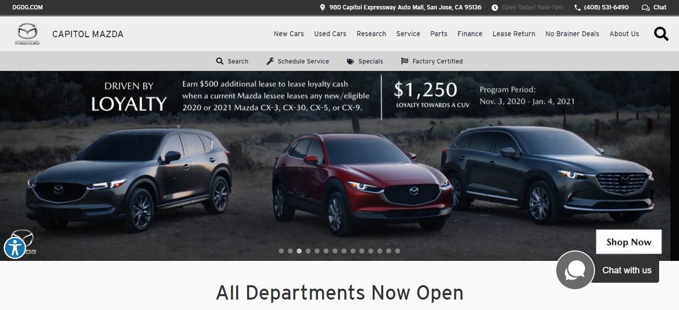 The Best Mazda Dealers in San Jose