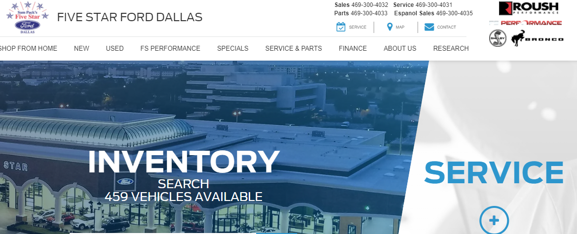 5 Best Ford Dealers in Dallas 2
