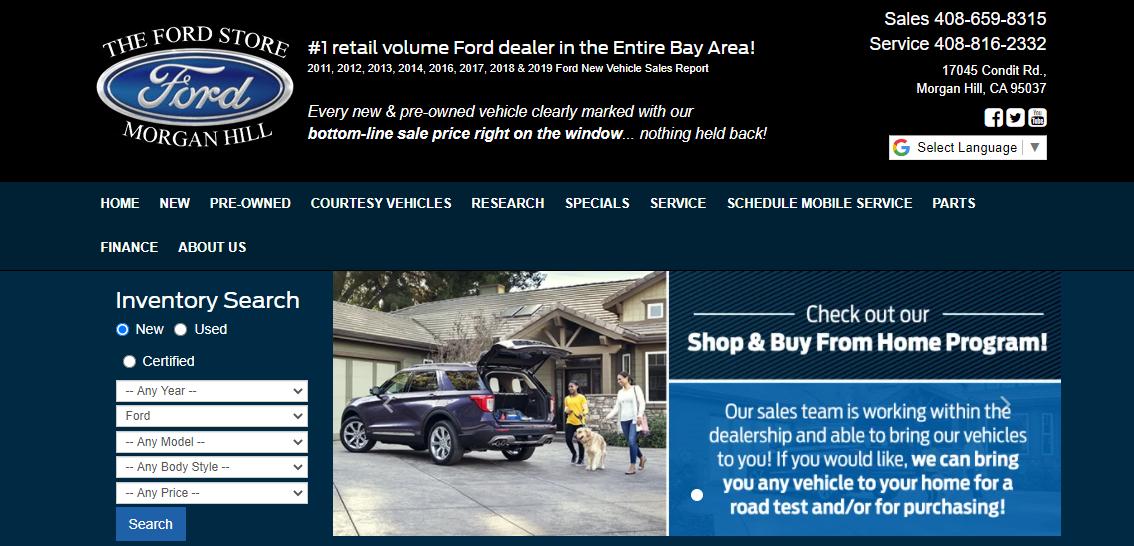 5 Best Ford Dealers in San Jose4