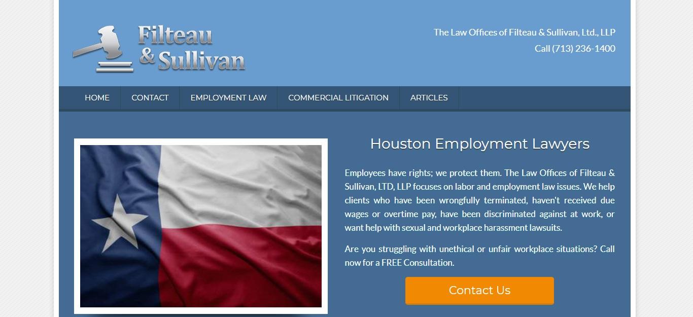 The Best Unfair Dismissal Attorneys in Houston