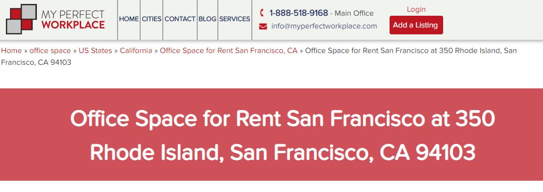 5 Best Office Rental Spaces in San Francisco 2