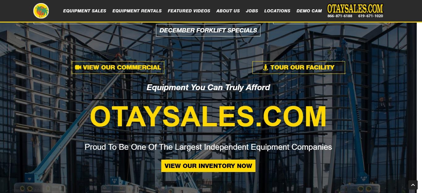 San Diego's Best Heavy Machinery Dealers