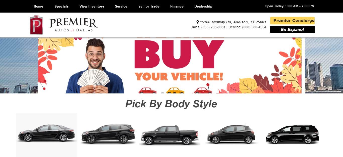 5 Best Car Dealers in Dallas