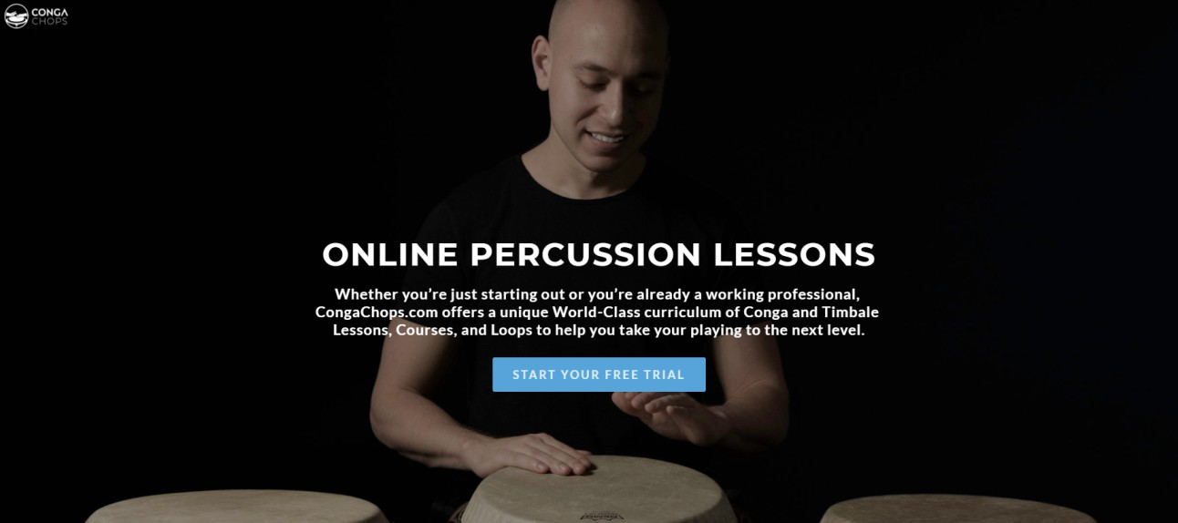 Conga Chops - Online Percussion Lessons