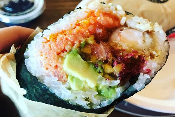 Kazu Sushi Burrito