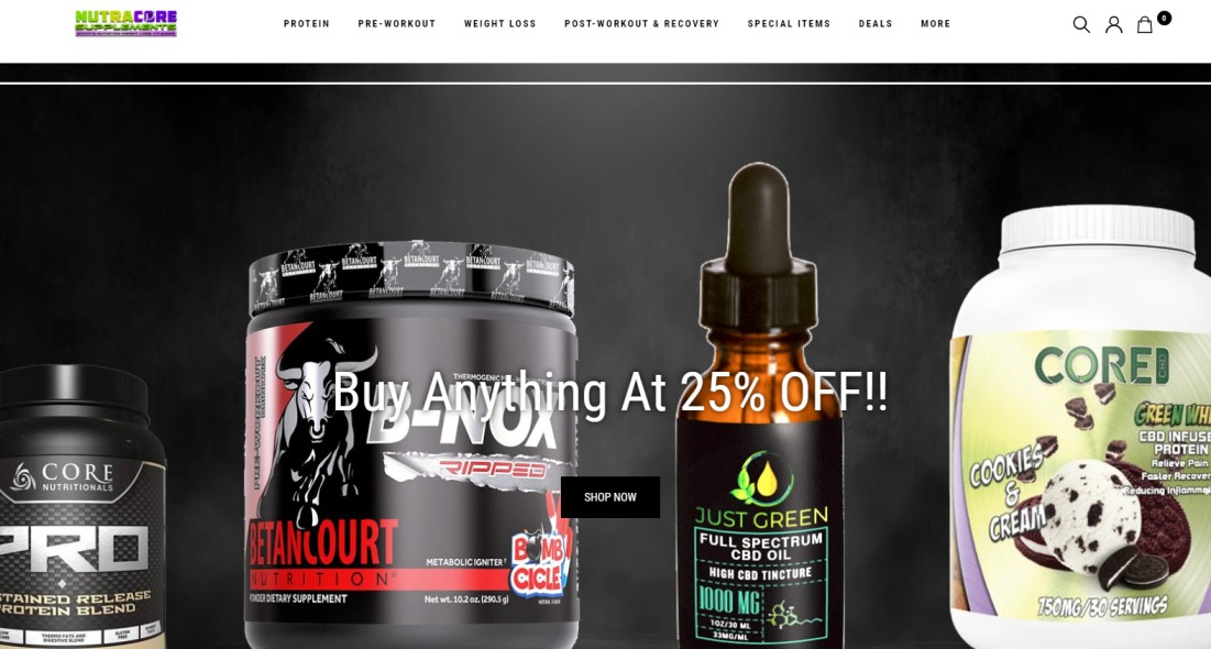 NutraCore Supplements