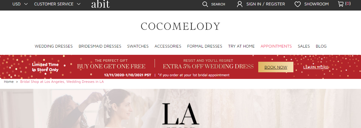 5 Best Bridals in Los Angeles 3