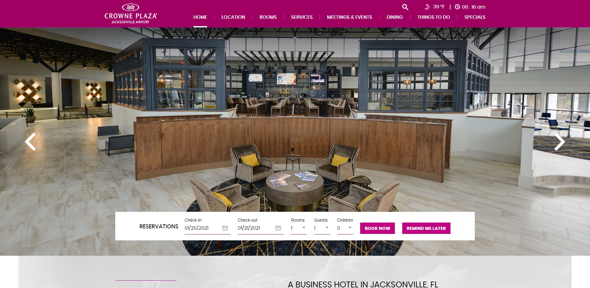 Jacksonville's Best Hotels