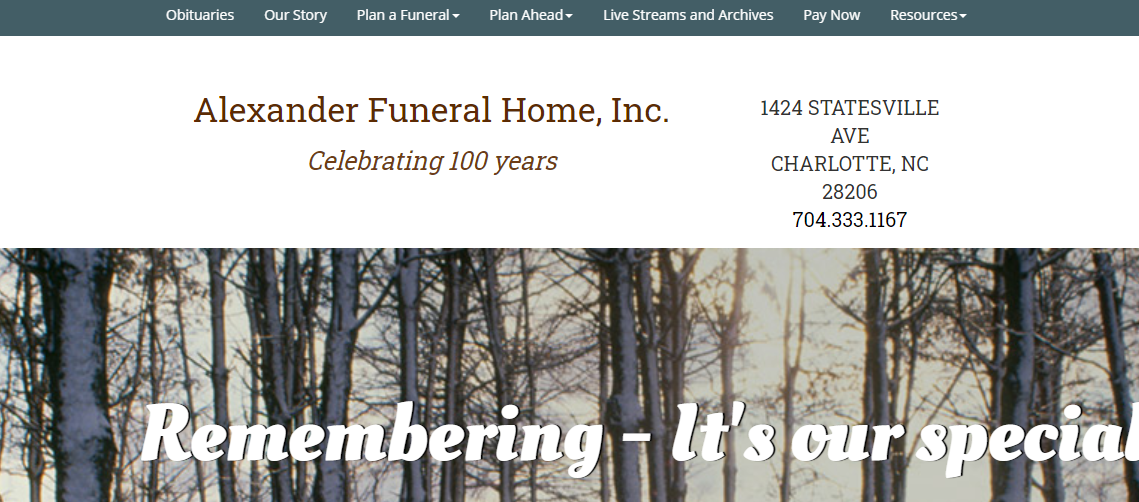 5 Best Funeral Homes in Charlotte2