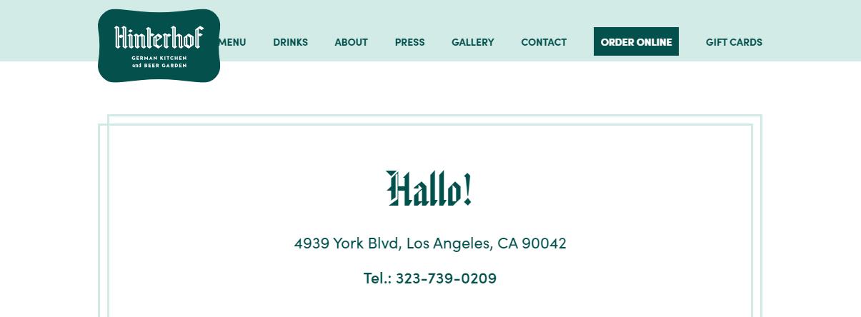 5 Best German Restaurants in Los Angeles 4