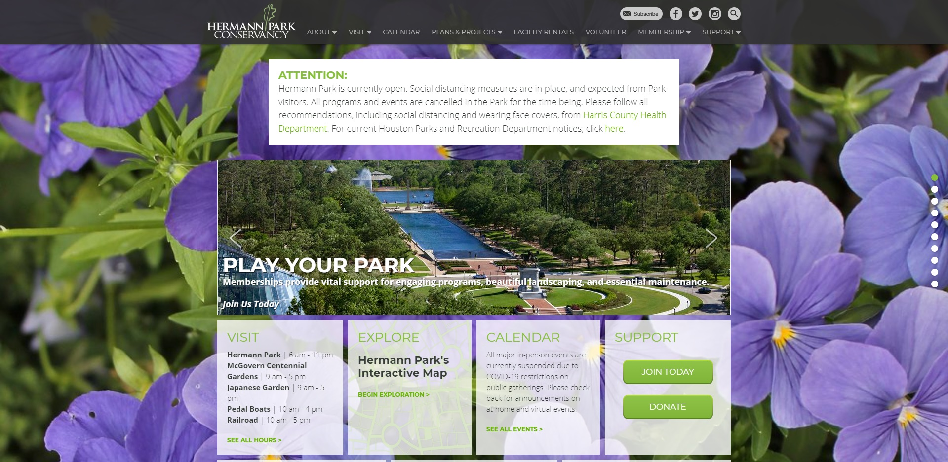 Best Parks in Houston