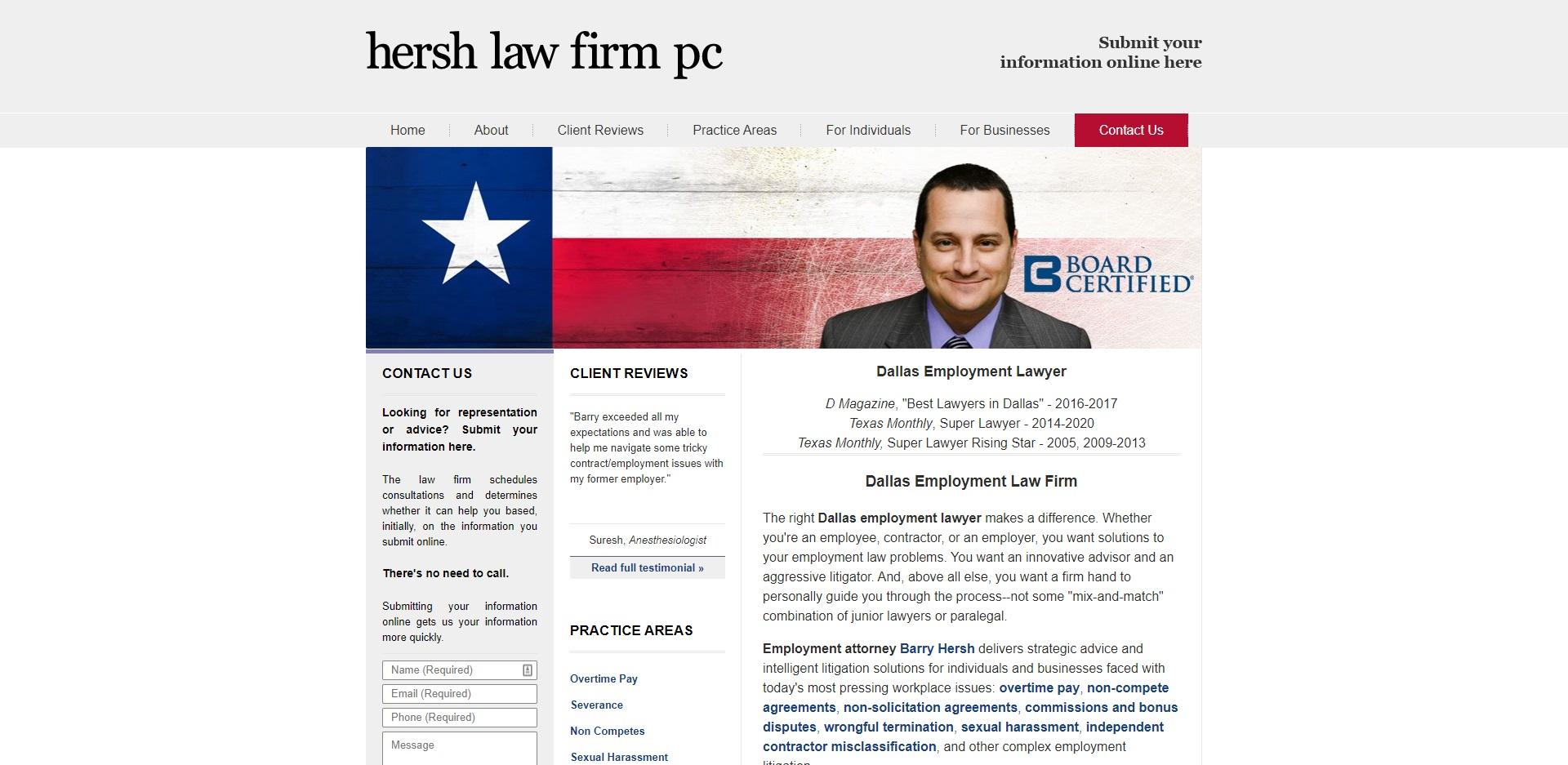 Dallas's Best Contract Attorneys