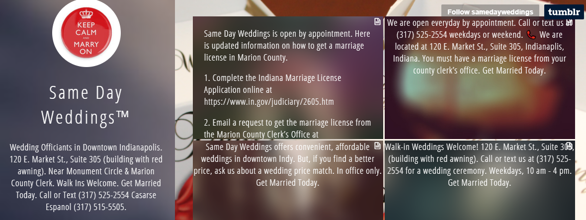 5 Best Marriage Celebrants in Indianapolis 1