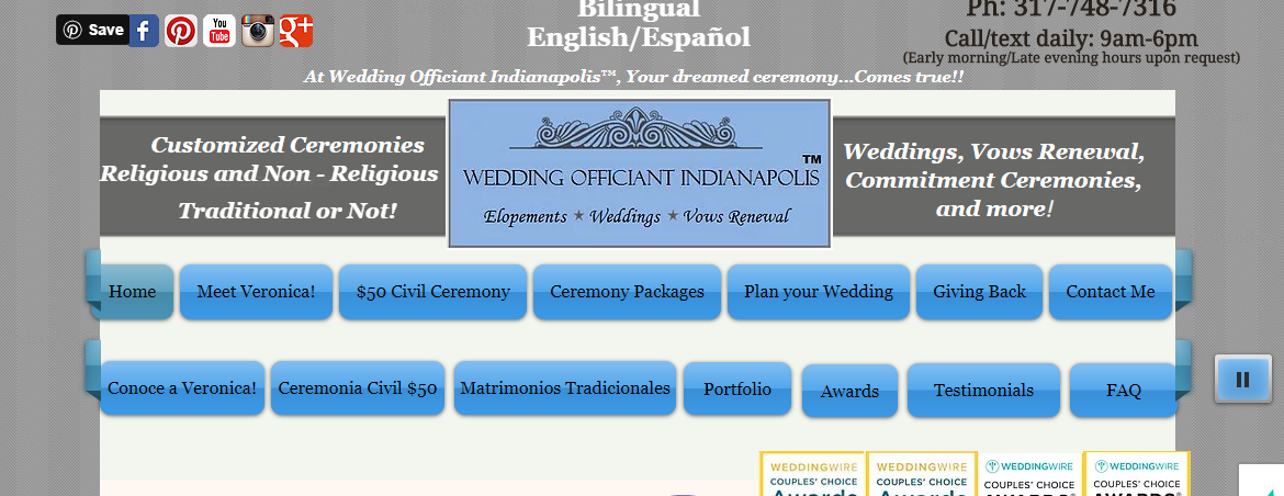 5 Best Marriage Celebrants in Indianapolis 4