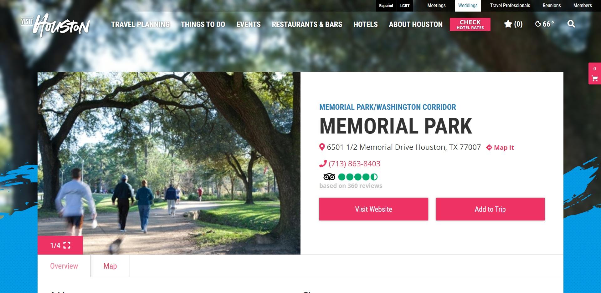 5 Best Parks in Houston