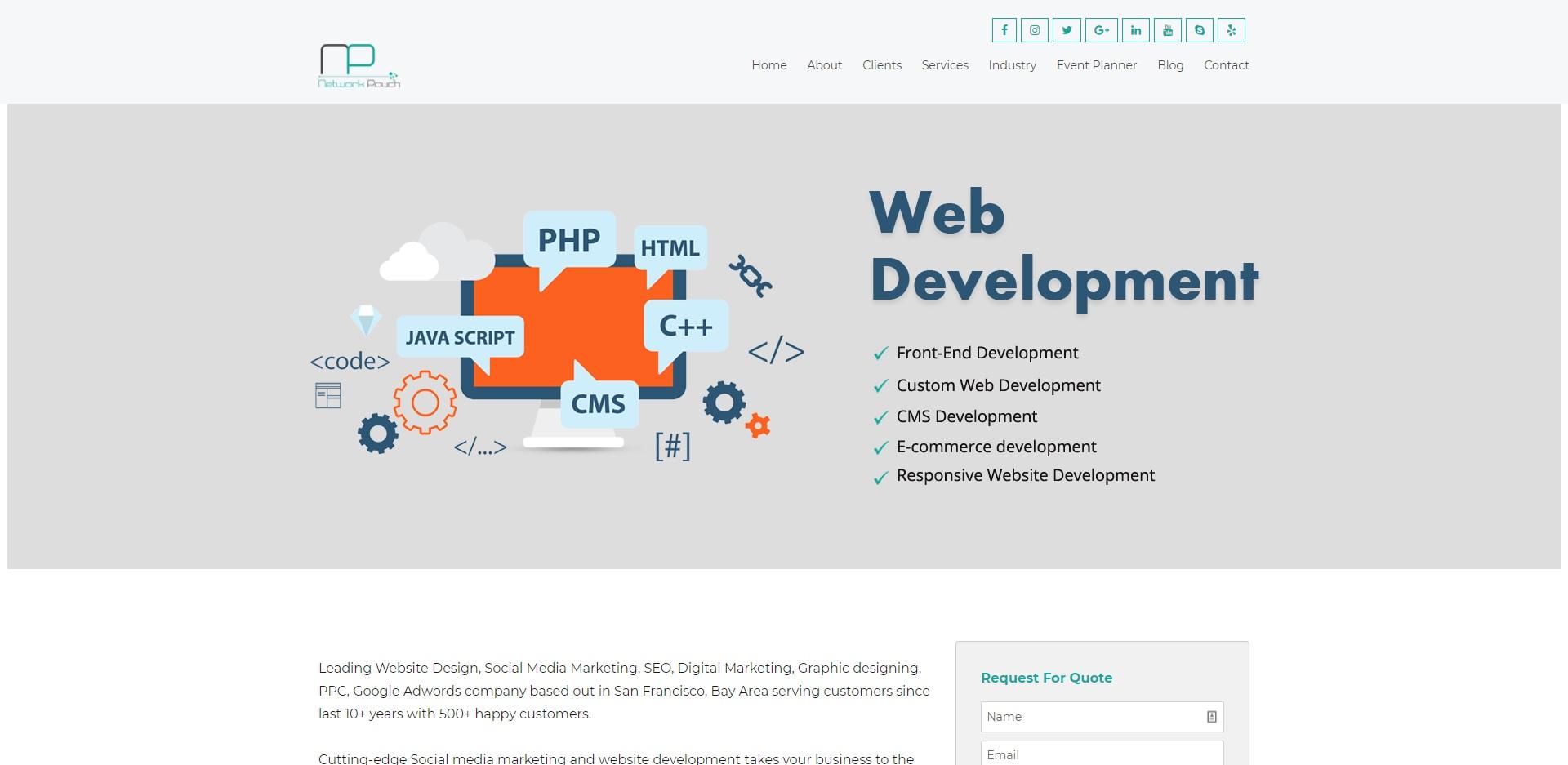 San Jose's Best Web Development