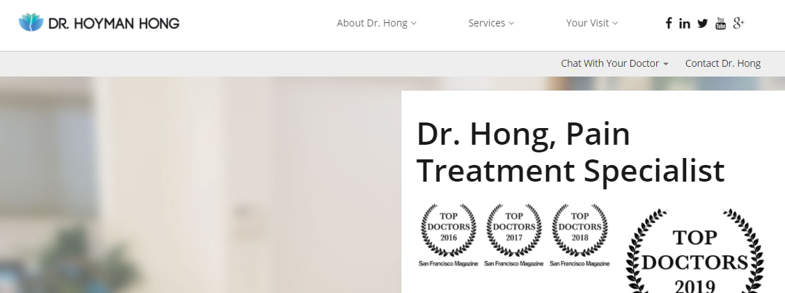 5 Best Pain Management Doctors in San Francisco 4