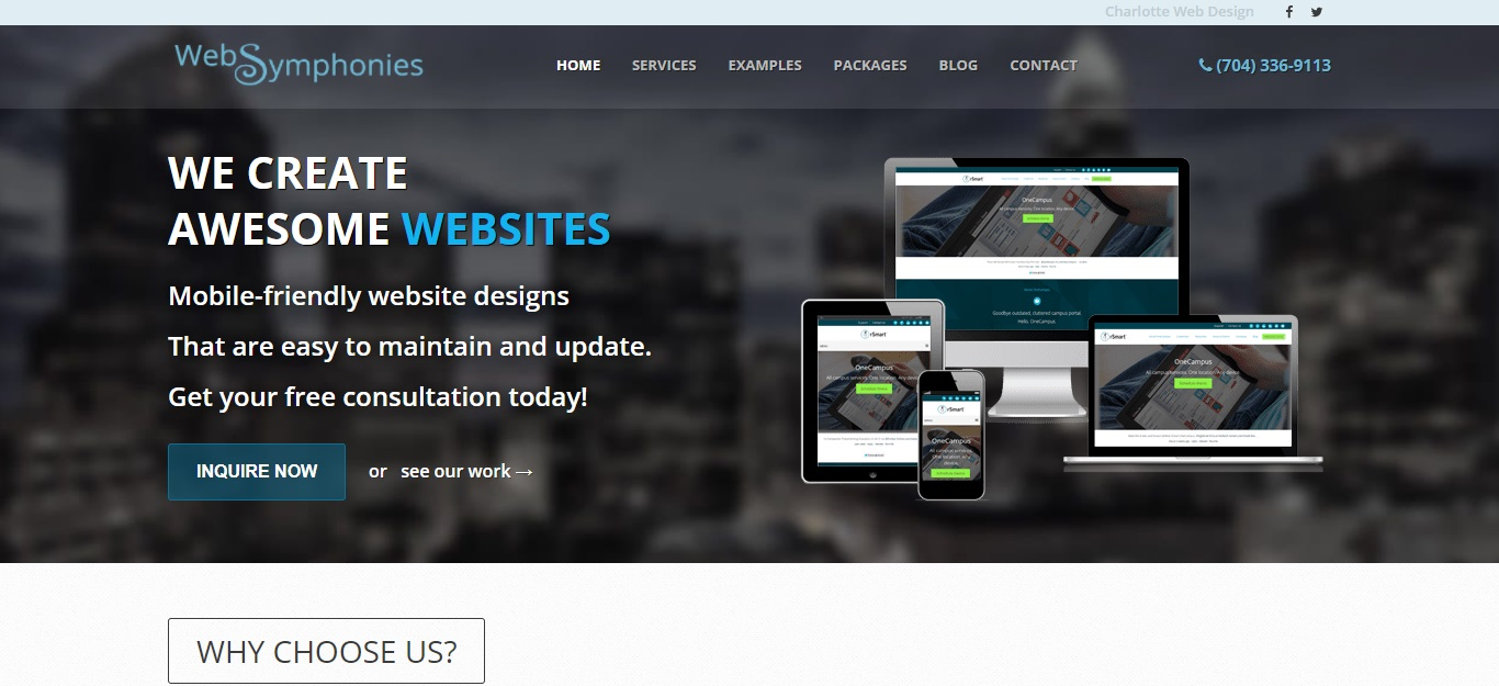 The Best Web Hosting in Charlotte
