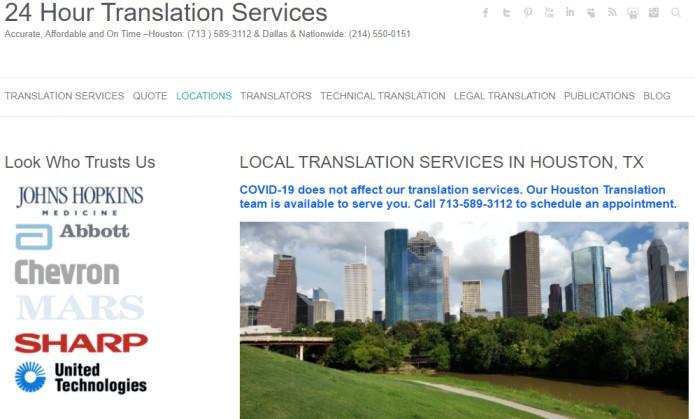 24 Hour Translation
