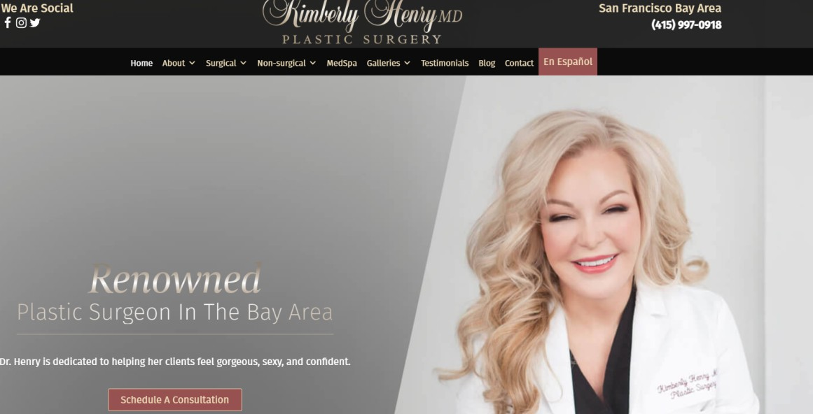 Dr. Kimberly Henry - Plastic Surgeons in the Bay Area