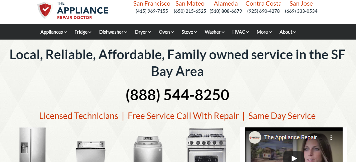 5 Best Appliance Repair Services in San Francisco5