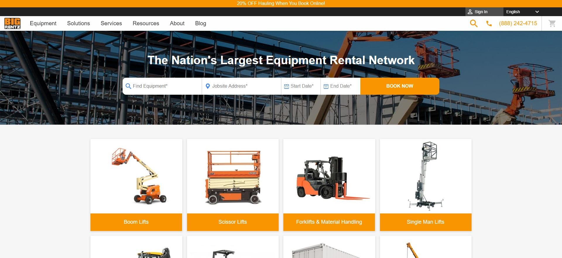 5 Best Heavy Machinery Rentals in Charlotte