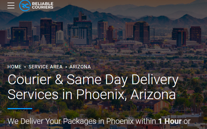 5 Best Couriers in Phoenix1