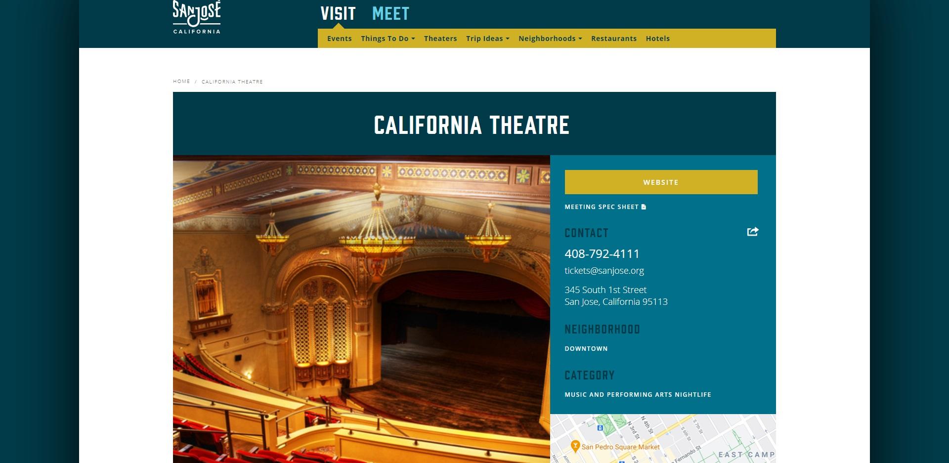 Best Theatres in San Jose