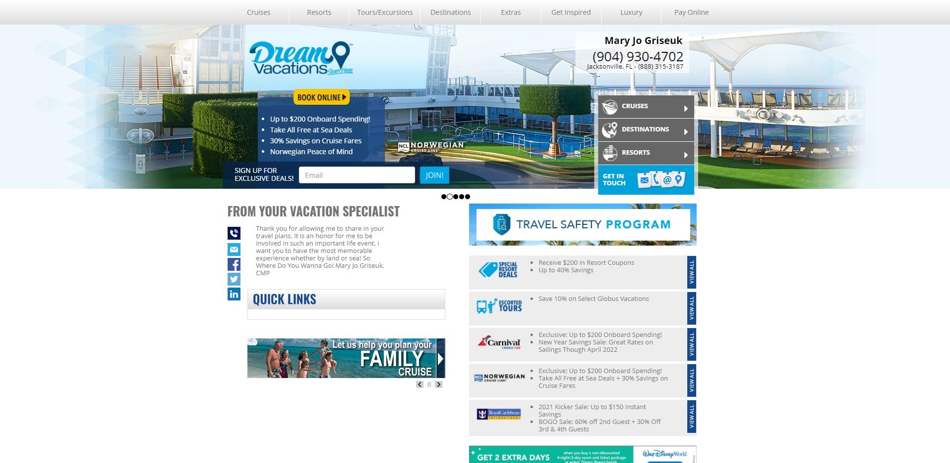 5 Best Travel Agents in Jacksonville