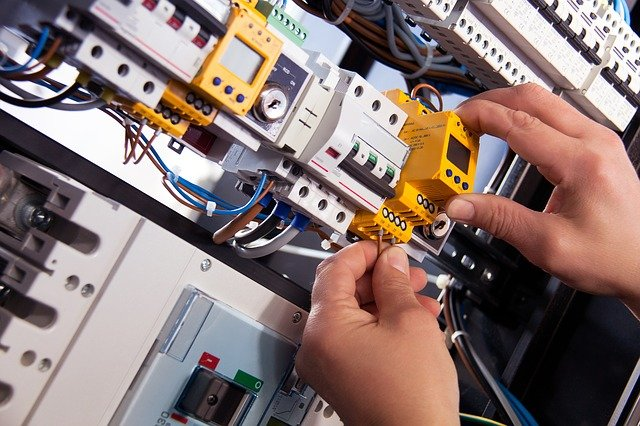 An electrician electrical panel replacement and installation in Moncks Corner South Carolina