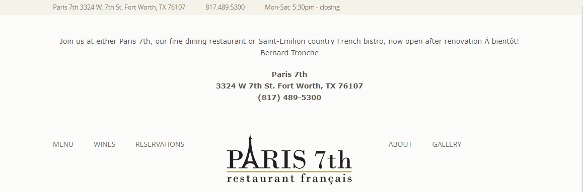 5 Best French Cuisine in Fort Worth4