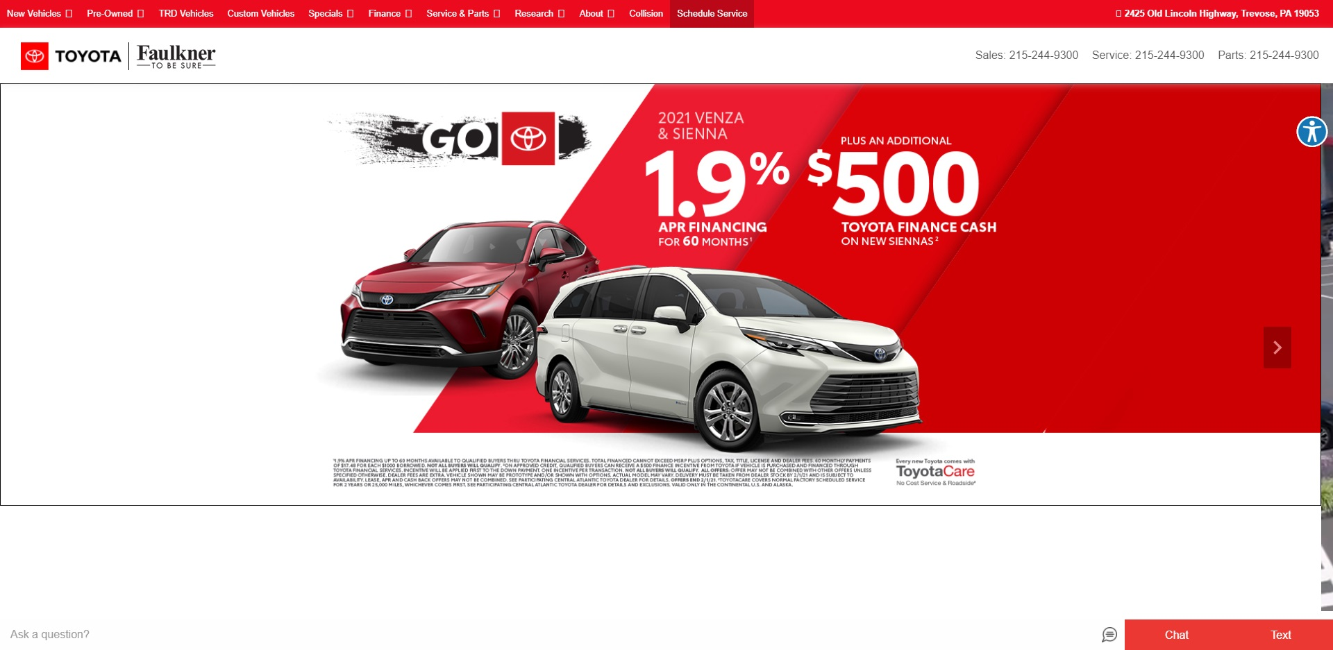 Philadelphia Best Toyota Dealers
