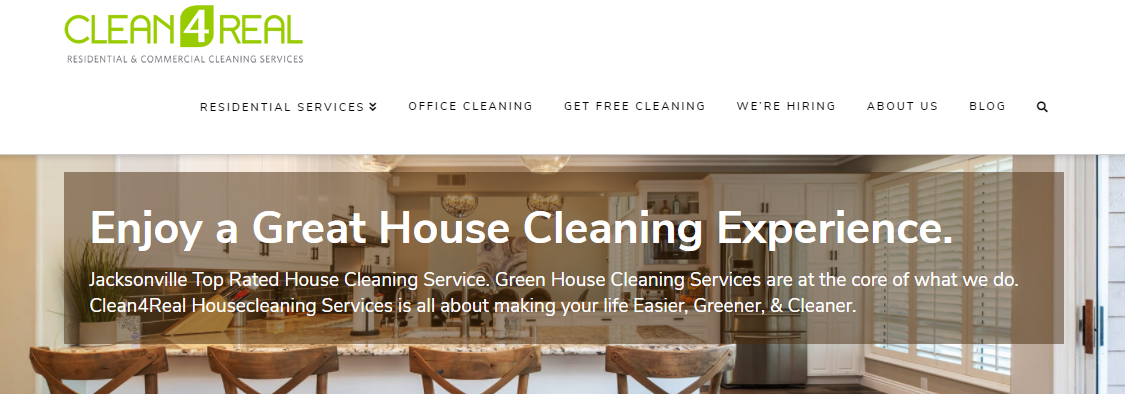 5 Best House Cleaning Services in Jacksonville 1