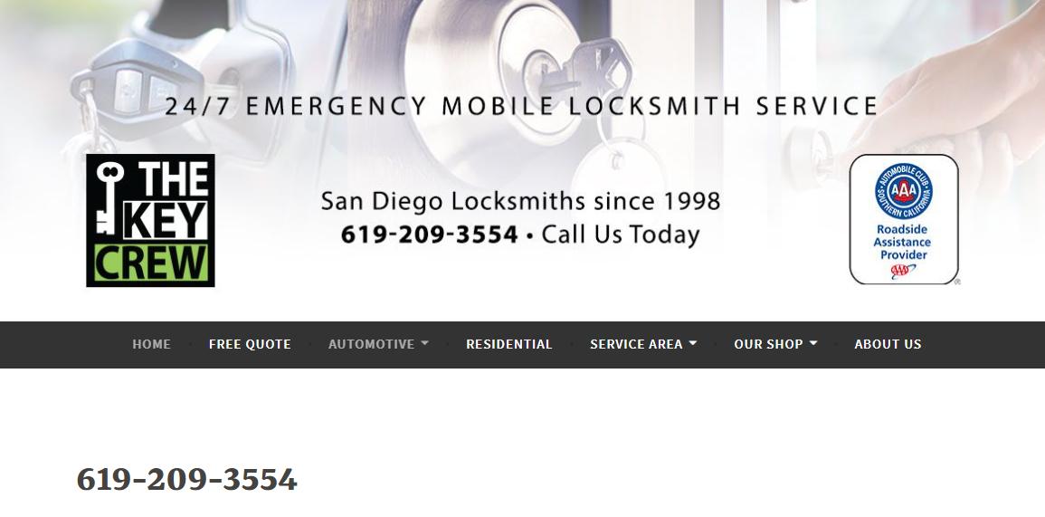 5 Best Locksmiths in San Diego 1