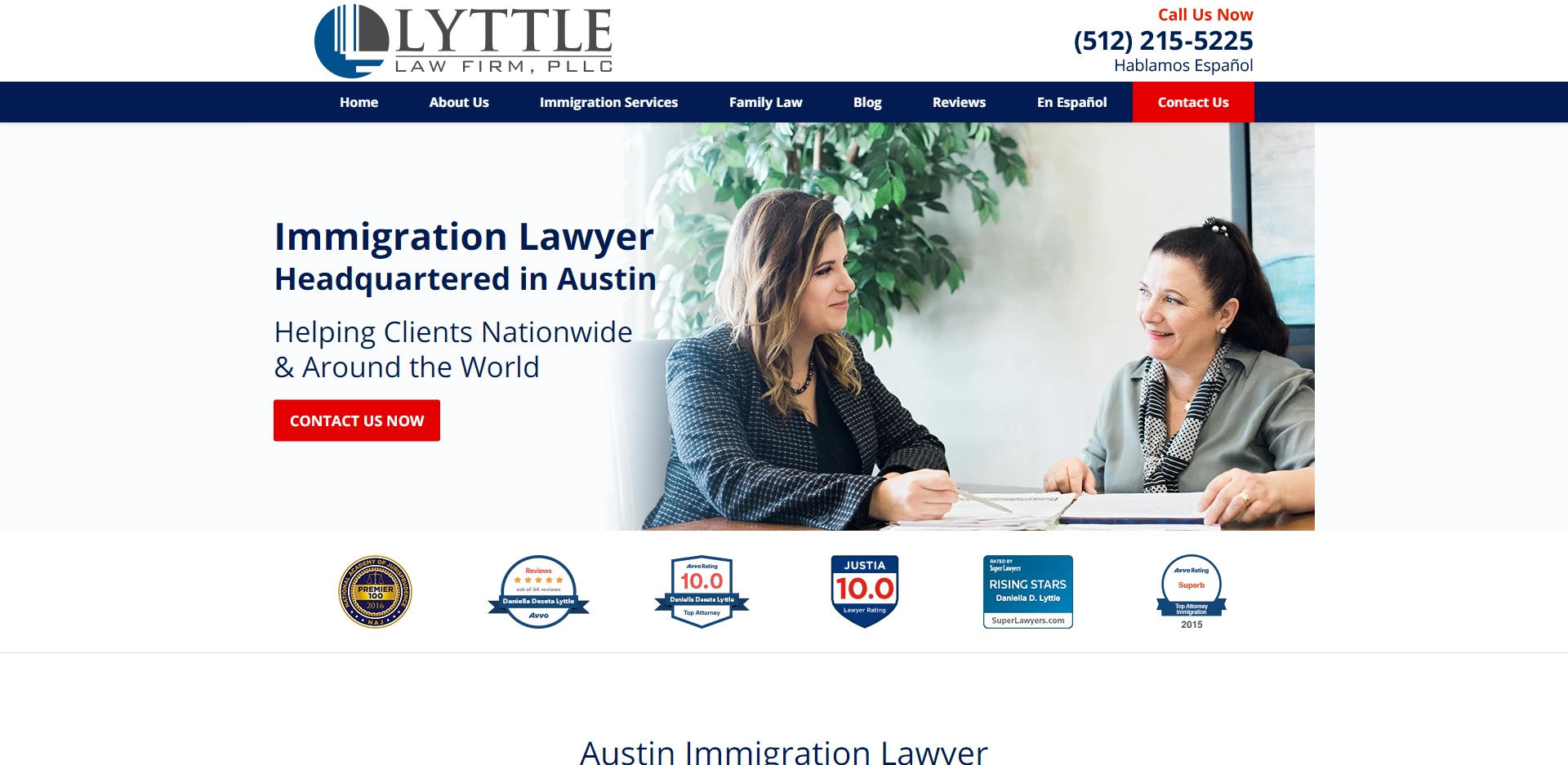 Austin's Best Barristers