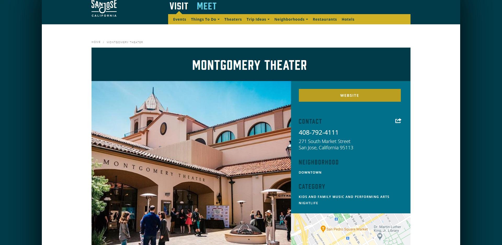 San Jose's Best Theatres