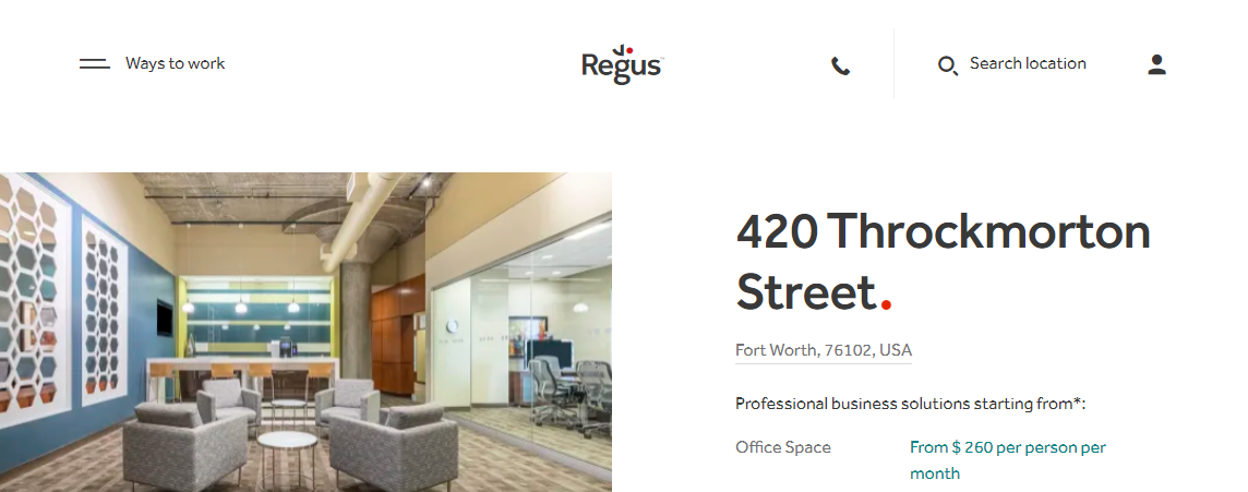5 Best Office Rental Spaces in Fort Worth3