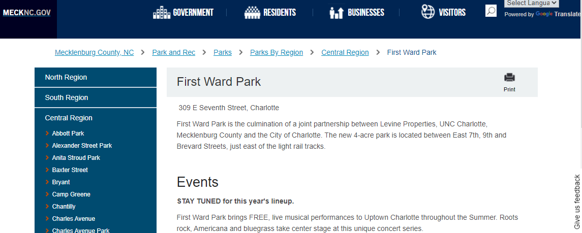 5 Best Parks in Charlotte 3