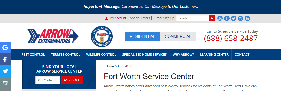 5 Best Pest Control Companies in Fort Worth 4