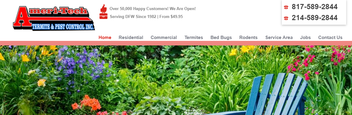 5 Best Pest Control Companies in Fort Worth 5