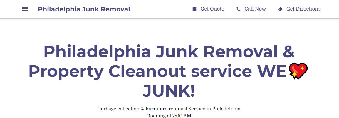 5 Best Rubbish Removal in Philadelphia 4
