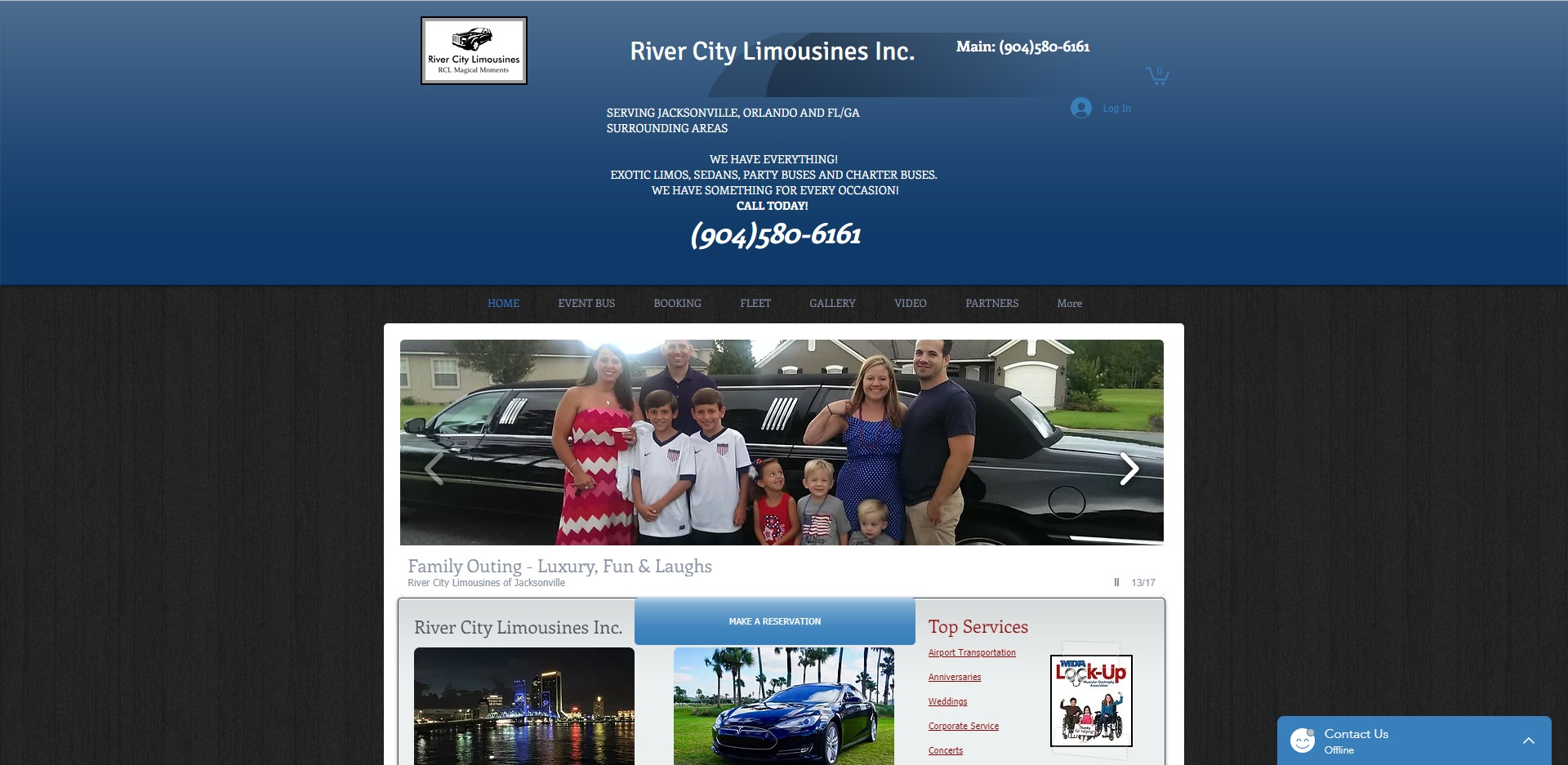 The Best Limo Rental in Jacksonville