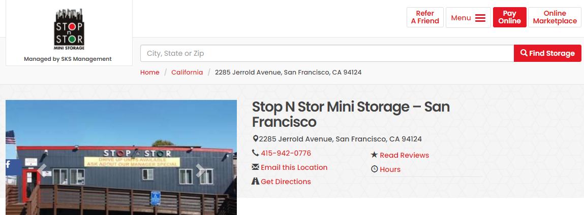 5 Best Self-Storage in San Francisco3