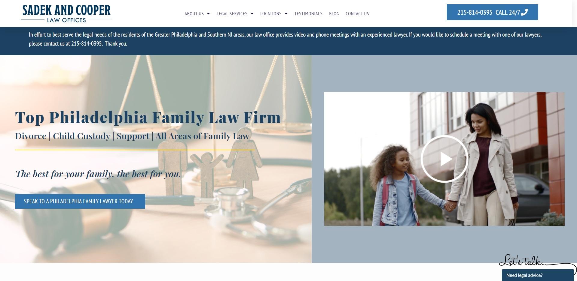 5 Best Child Custody Attorneys in Philadelphia