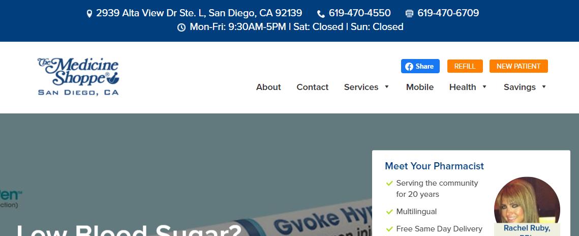 5 Best Pharmacy Shops in San Diego3